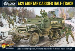 Warlord Games 28mm M21 Mortar Carrier Half-Track # WGB-AI-507