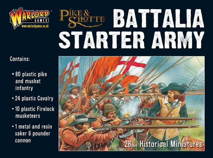 Warlord Games 28mm Pike & Shotte Battalia Starter Army # WGA-PS-