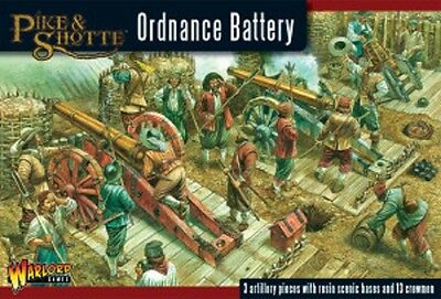 Warlord Games 28mm Pike & Shotte Ordnance Battery # WGP-18