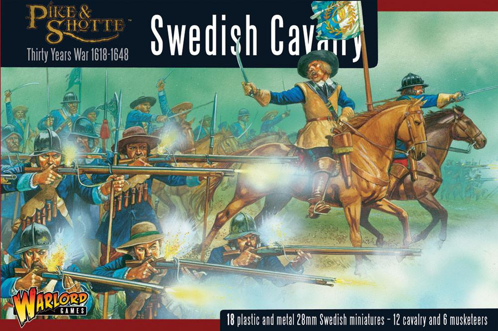 Warlord Games 28mm Pike & Shotte Swedish Cavalry # WGP-14