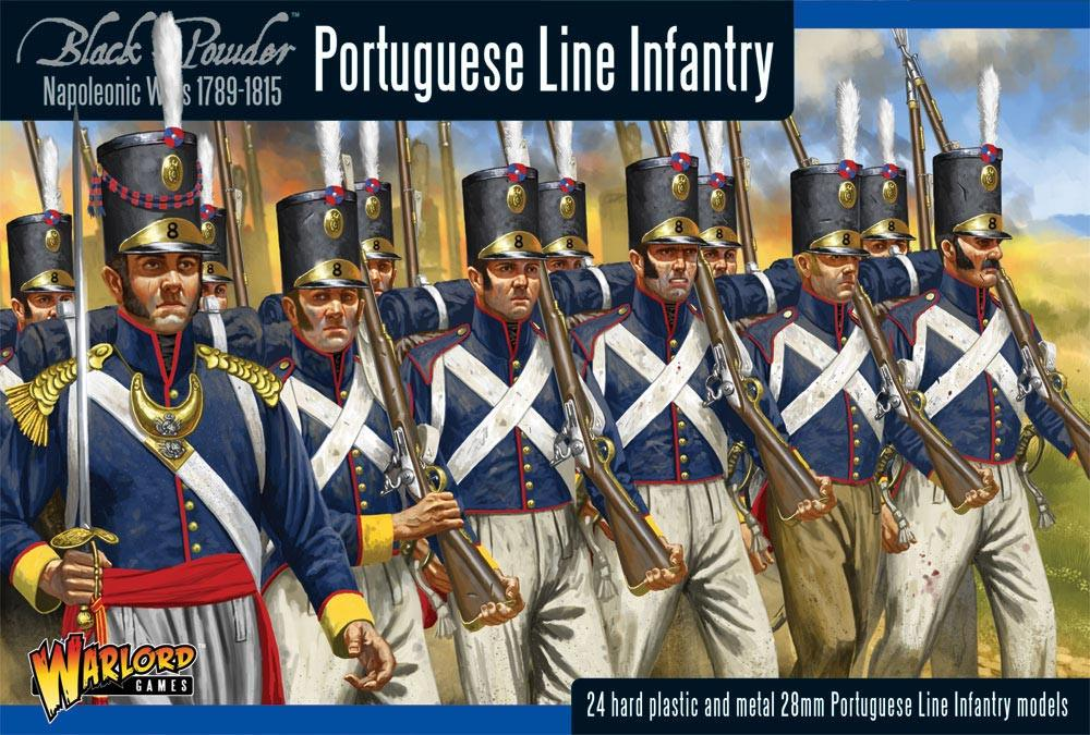 Warlord Games 28mm Portuguese Line Infantry # WGN-PO-01