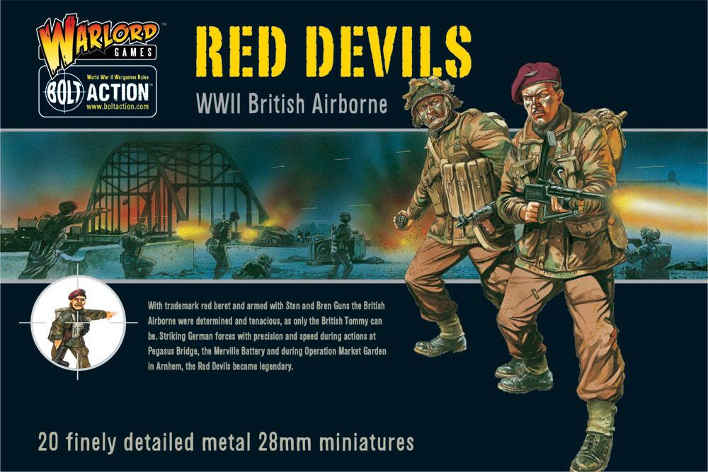 Warlord Games 28mm Red Devils WWII British Airborne # WGB-BA-01