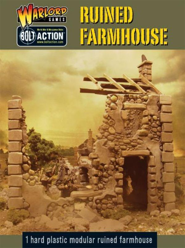 Warlord Games 28mm Ruined Farmhouse # WG-TER-02