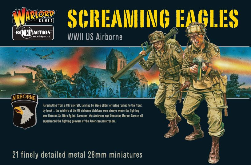 Warlord Games 28mm Screaming Eagles WWII US Airborne # WGB-AA-01