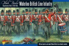 Warlord Games 28mm Waterloo British Line Infantry # WGN-BR-02