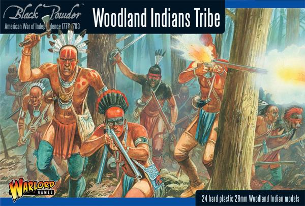 Warlord Games 28mm Woodland Indians Tribe # 302015501