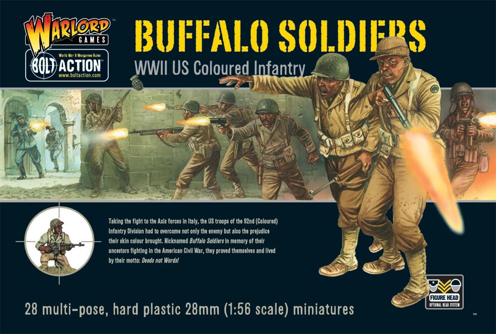 Warlord Games 28mm WWII US Coloured Infantry Buffalo Soldiers #
