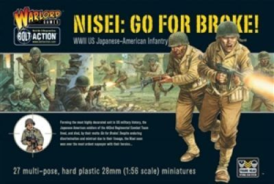 Warlord Games 28mm WWII US-Japanese Nisei Infantry # WGB-AI-04