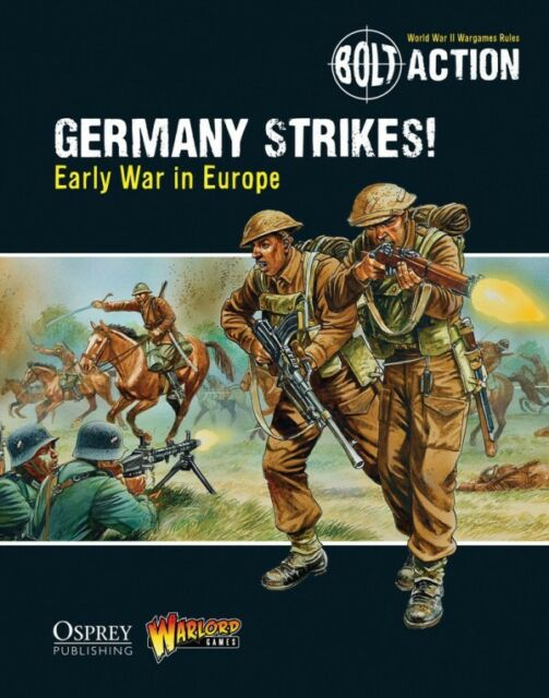Warlord Games Germany Strikes Rule book # WGB12