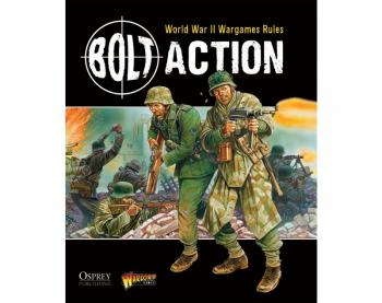 Warlord Games WWII Wargames Rules Bolt Action # WGB-001