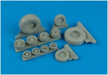 Wheeliant 1/32 F-14D Super Tomcat weighted wheels # 132001