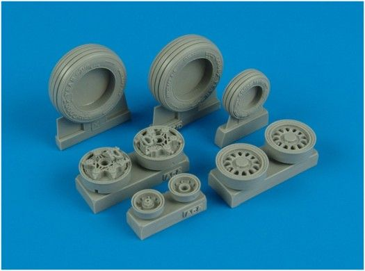 Wheeliant 1/32 F-16I Sufa (Storm) weighted wheels # 132006
