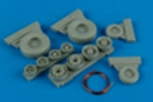 Wheeliant 1/48 F-14A Tomcat Weighted Wheels # 148001
