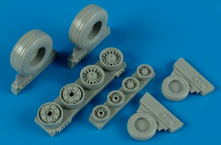 Wheeliant 1/48 F-14B/D Tomcat Weighted Wheels # 148005