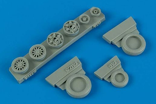 Wheeliant 1/48 F-16C/CJ (Block 50/52) Weighted Wheels # 148009