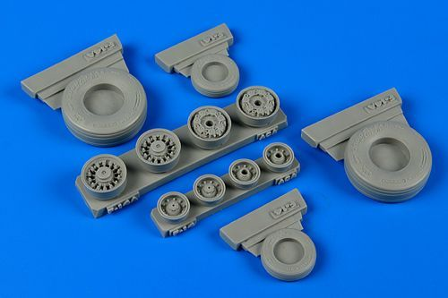 Wheeliant 1/48 Grumman F-14A Tomcat Weighted Wheels # 148011