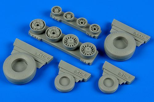 Wheeliant 1/48 Grumman F-14B/F-14D Tomcat Weighted Wheels # 1480