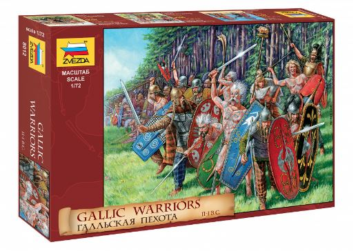 Zvezda 1/72 Gallic Warriors II-I B.C. # 8012