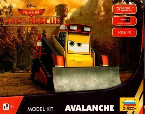 Zvezda Avalanche - Disney Planes Fire & Rescue Snap Kit # 2079